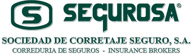 SEGUROSA. Sociedad de Corretaje de Seguro, S.A. Correduría de Seguros - Insurance Brokers
